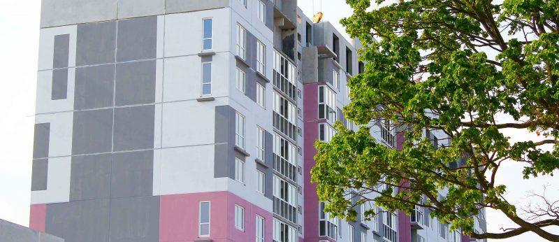 Группа жилых домов в районе ул. Героев обороны Брестской крепости г. Бреста (КПД-2 и КПД-3)