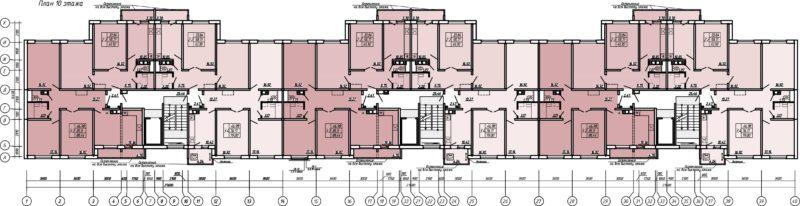 Планировки квартир Брестжилстрой